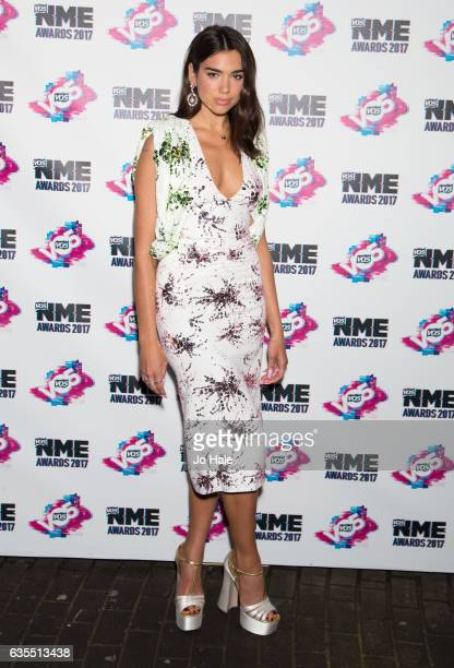 Dua Lipa arrives at the VO5 NME awards 2017 on February 15 2017 in London United Kingdom