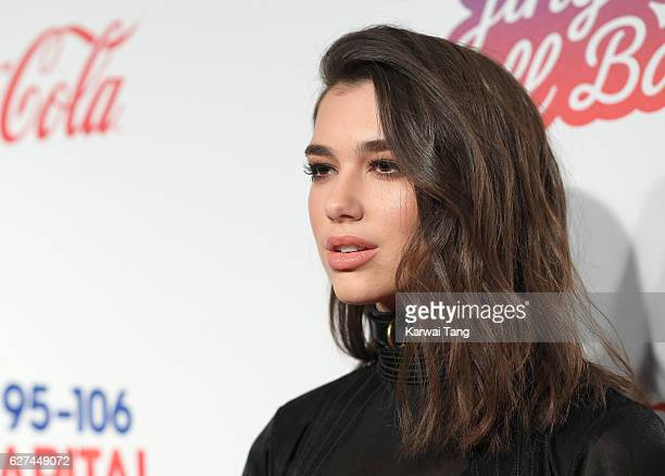 Dua Lipa attends Capital's Jingle Bell Ball with CocaCola at the 02 Arena on December 3 2016 in London United Kingdom