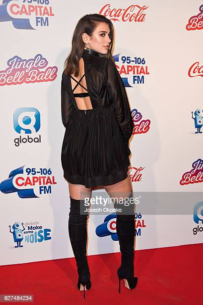 Dua Lipa attends Capital's Jingle Bell Ball with CocaCola on December 3 2016 in London United Kingdom