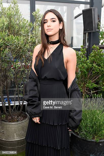 Dua Lipa attends Warner Music Group Summer party in association with British GQ and Quintessentially on July 6 2016 in London England