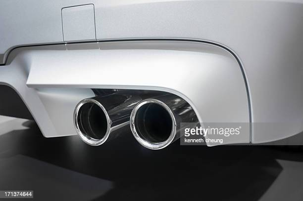 Dual Exhaust Pipes