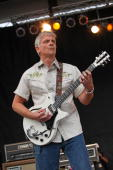 Duane Denison of The Jesus Lizzard performs during the 2009 Pitchfork Music Festival at Union Park on July 17 2009 in Chicago Illinois