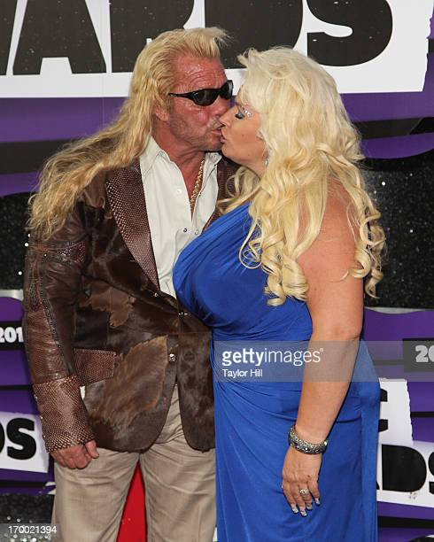 Duane 'Dog' Chapman and Beth Chapman attend the 2013 CMT Music awards at the Bridgestone Arena on June 5 2013 in Nashville Tennessee