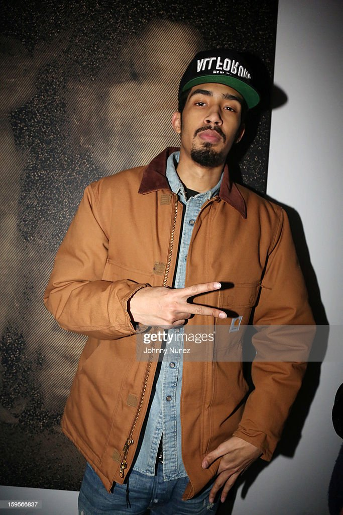 Dub attends A$AP Rocky's 'LOVE.LIVE.A$AP' Album Release Party at The Hole on January 15, 2013 in New York City.