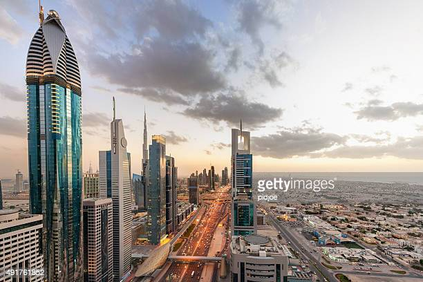 Dubai at sunset