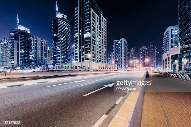 Dubai city highway
