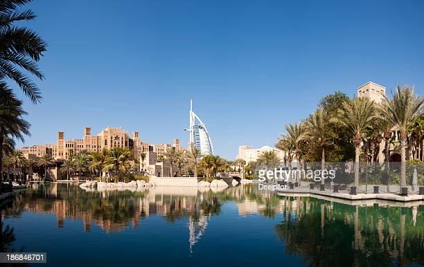Dubai City Skyline in the United Arab Emirates