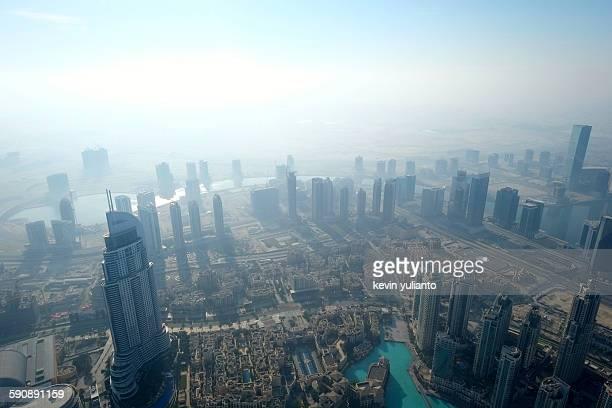 Dubai Cityscape in the Morning