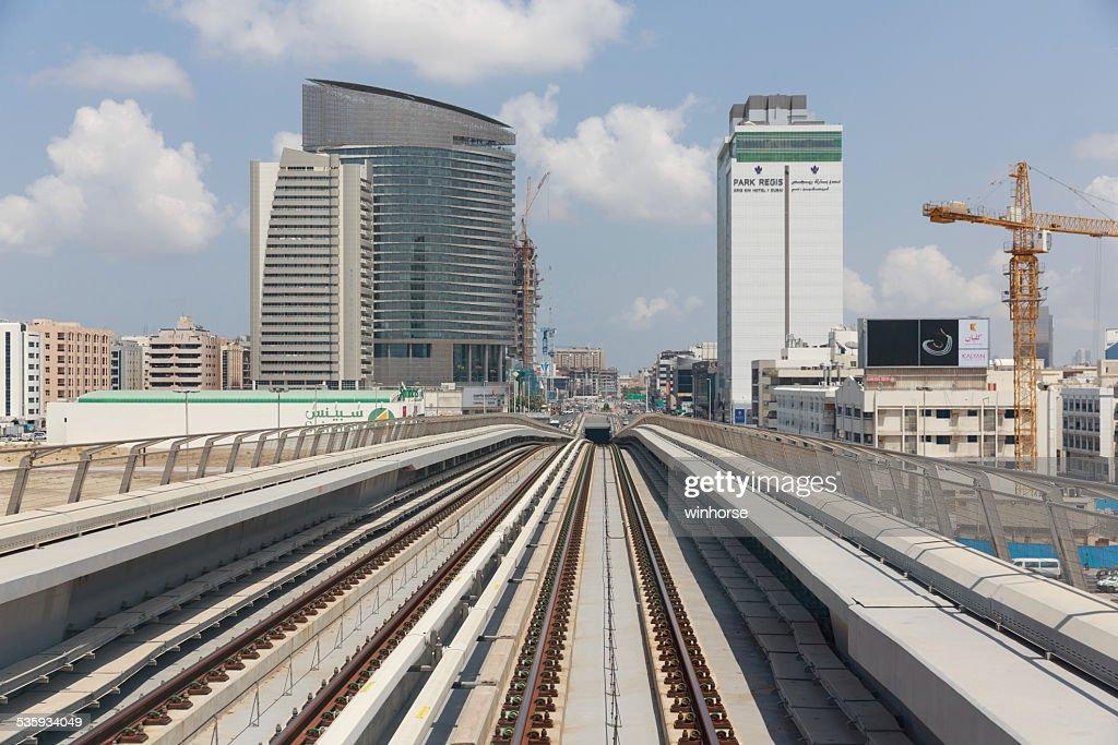 Dubai Cityscape : Stock Photo