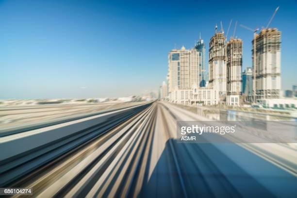 Dubai Commuter Train