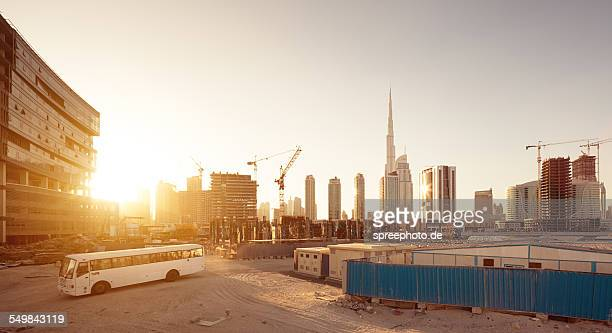 Dubai construction area