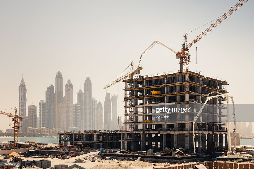 Dubai Construction : Stock Photo