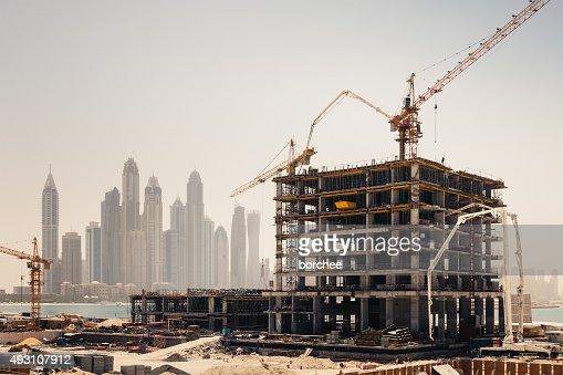 Construction de Dubaï