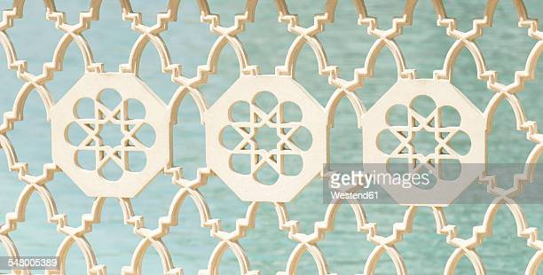 Dubai, Detail of an railing