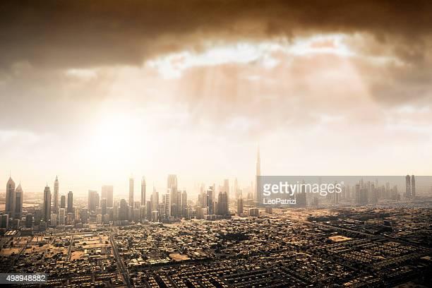 Dubai Innenstadt Wolkenkratzer und Bürogebäude