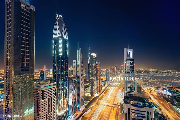 Dubai Downtown Skyscrapers United Arab Emirates