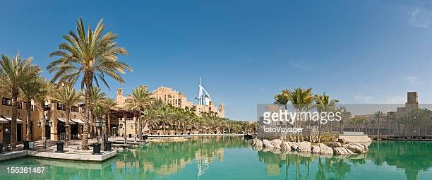 Dubai luxury lakeside restaurants hotels Burj Al Arab UAE