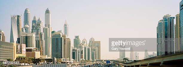 Dubai Marina and Sheikh Zayed Road