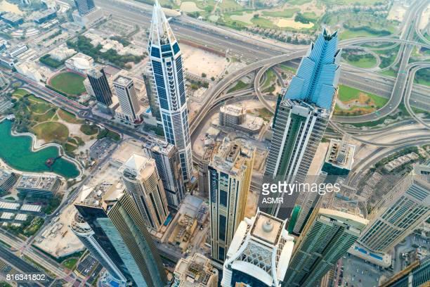 Dubai Marina Urban Skyline