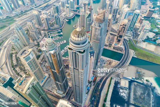 Dubai Marina horizon urbain