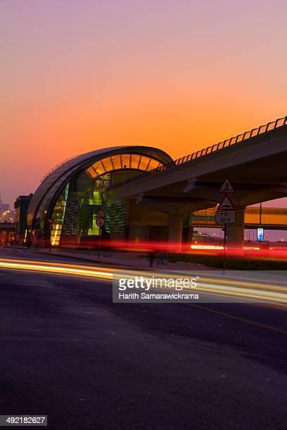 Dubai Metro Station, United Arab Emirates