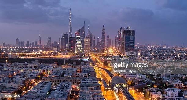 Dubai Skyline at Dawn