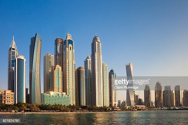 Dubai Skyline from the Sea