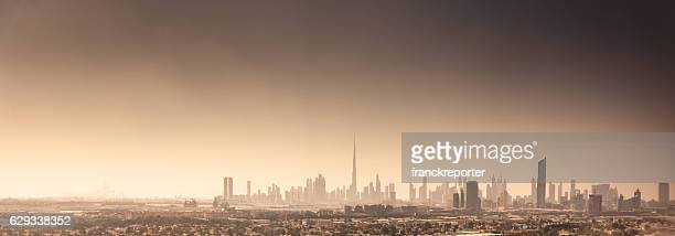 dubai skyline in uae