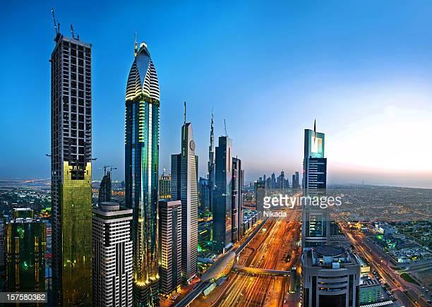 De Dubai horizonte