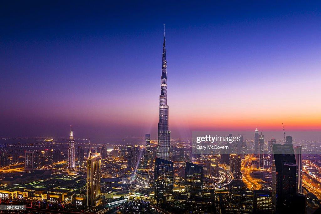 Dubai Skyline : Foto de stock