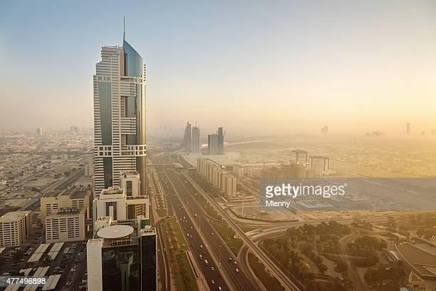 Dubai Sunrise, Sheikh Zayed Road Downtown
