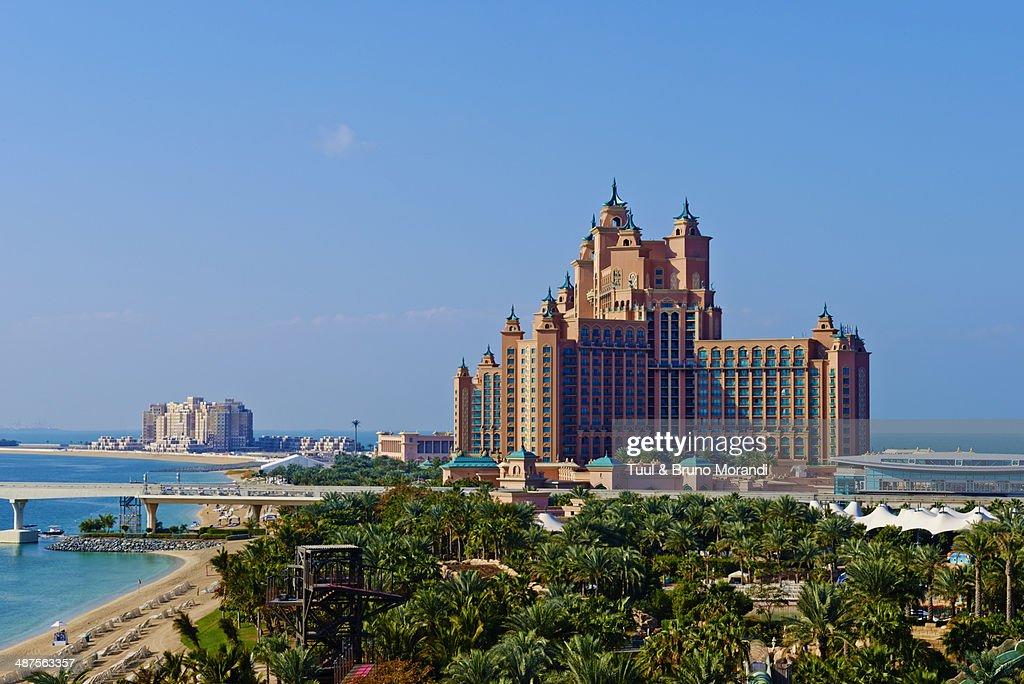 Dubai, the Palm Jumeirah, Atlantis hotel