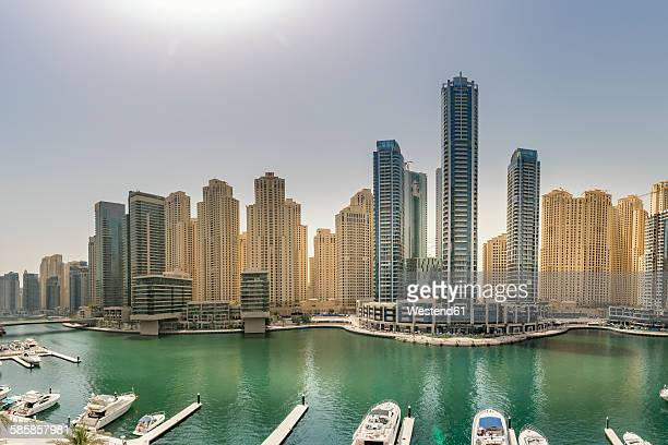 UAE, Dubai, view to Dubai Marina
