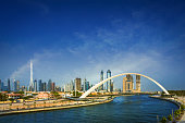 Dubai Water Canal Project is an extension of Deira Creek, linking Business Bay to the Arabian Gulf