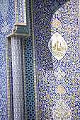 Dubai,Detail Of Mosque