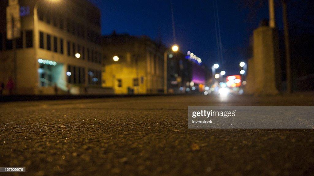 Dublin at night : Stock Photo