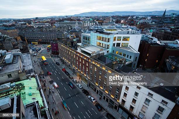 Dublin City skyline, Ireland