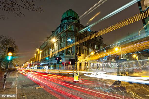 Dublin cityscape at nfight