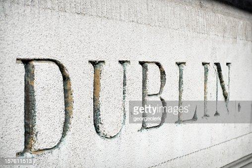 'Dublin' Cut in Stone