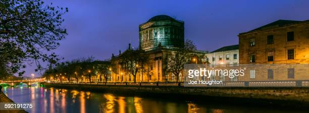 Dublin Four Courts Blue Moment