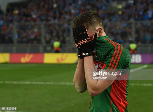 Dublin Ireland 1 October 2016 Diarmuid O'Connor of Mayo walks off the pitch following the GAA Football AllIreland Senior Championship Final Replay...