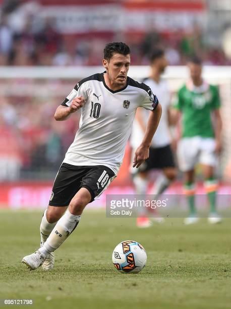 Dublin Ireland 11 June 2017 Zlatko Junuzovi of Austria during the FIFA World Cup Qualifier Group D match between Republic of Ireland and Austria at...