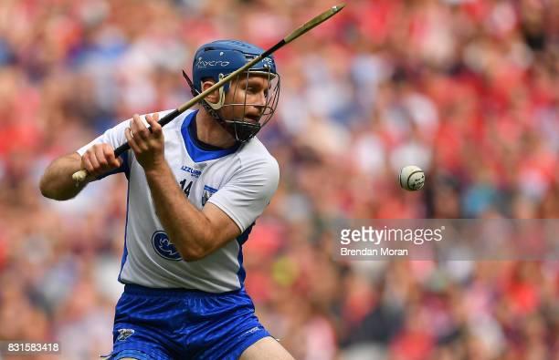 Dublin Ireland 13 August 2017 Michael Walsh of Waterford during the GAA Hurling AllIreland Senior Championship SemiFinal match between Cork and...