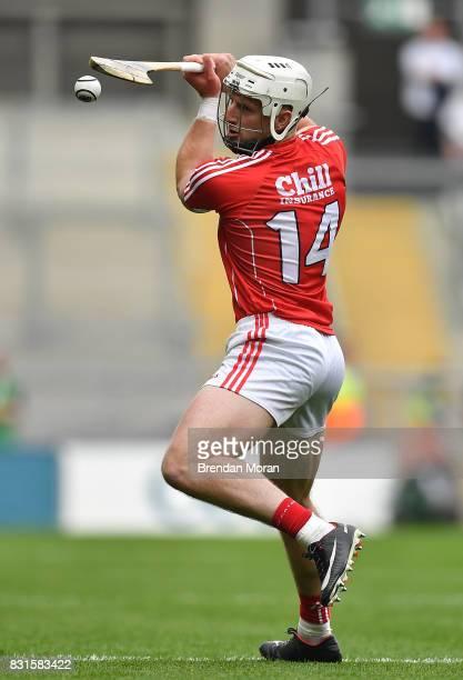 Dublin Ireland 13 August 2017 Patrick Horgan of Cork during the GAA Hurling AllIreland Senior Championship SemiFinal match between Cork and Waterford...