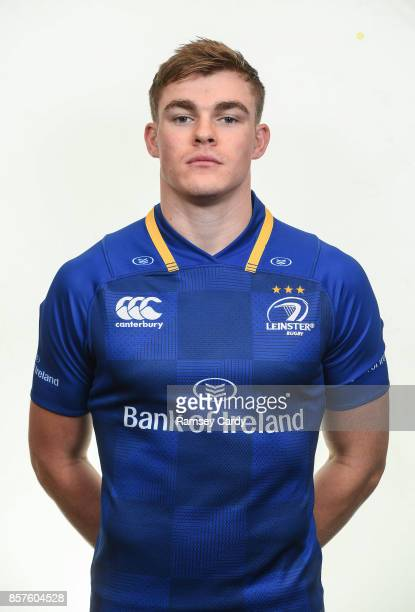 Dublin Ireland 15 August 2017 Leinster's Garry Ringrose photographed at Leinster Rugby Headquarters in Dublin