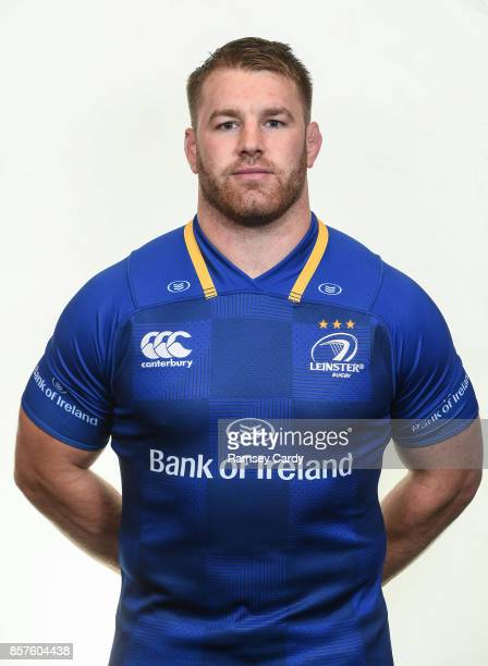 Dublin Ireland 15 August 2017 Leinster's Sean O'Brien photographed at Leinster Rugby Headquarters in Dublin