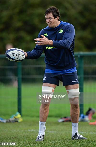 Dublin Ireland 16 January 2017 Mike McCarthy of Leinster during squad training at UCD in Belfield Dublin