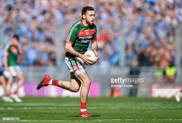 Dublin Ireland 17 September 2017 Kevin McLoughlin of Mayo during the GAA Football AllIreland Senior Championship Final match between Dublin and Mayo...