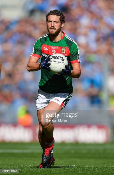 Dublin Ireland 17 September 2017 Tom Parsons of Mayo during the GAA Football AllIreland Senior Championship Final match between Dublin and Mayo at...