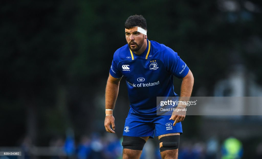 Dublin , Ireland - 18 August 2017; Mick Kearney of Leinster during the Bank of Ireland Pre-season Friendly match between Leinster and Gloucester at St Mary's RFC in Dublin.